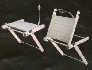palier de repos escamotable 300x227 - Échelles crinolines