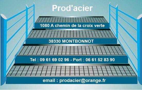 Logo prodacier - Contact