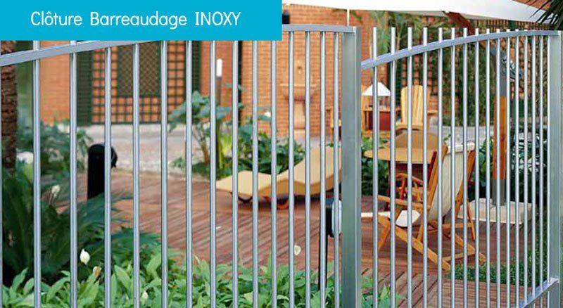 Clôture à barreaudage INOXY - Clôture