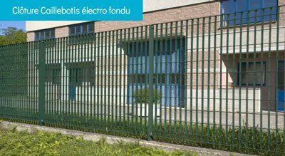 caillebotis électro fondu - Clôture