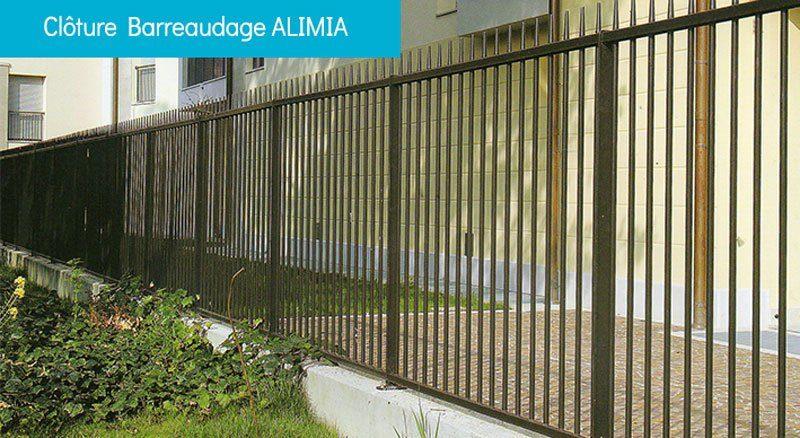 clôture barreaudage ALIMIA - Clôture