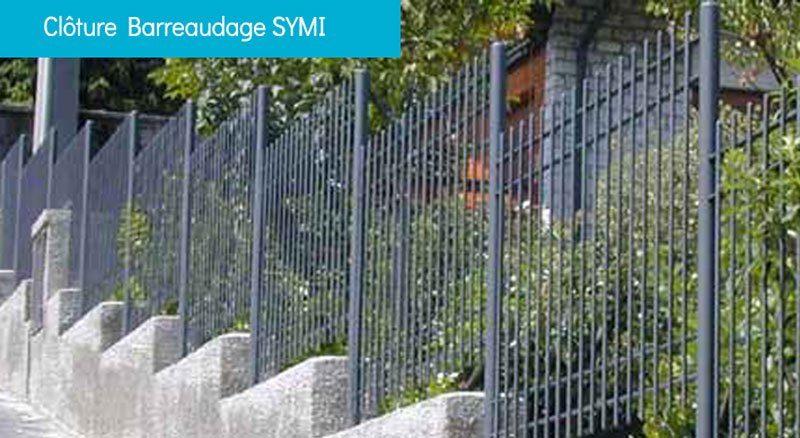 clôture barreaudage SYMI - Clôture